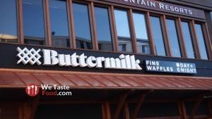 Exterior of Buttermilk Fine Waffles