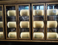 Cheese Wall at The Italian Centre Calgary