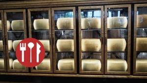 Cheese Wall at The Italian Centre Calgary