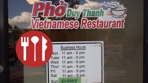 Business Hours at Pho Duy Thanh