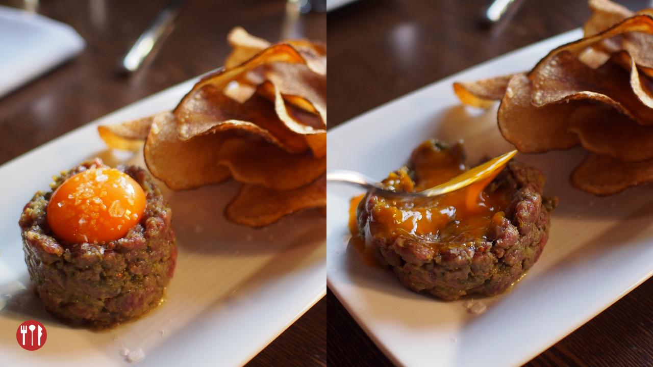 Classic Beef Tartare at Modern Steak
