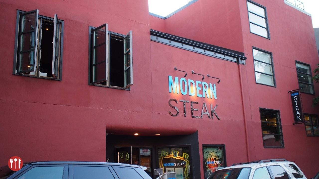 Exterior of Modern Steak