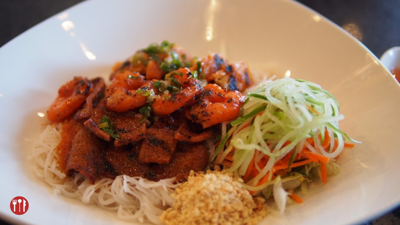 Surf & Turf Vermicelli at Watercress Express Calgary