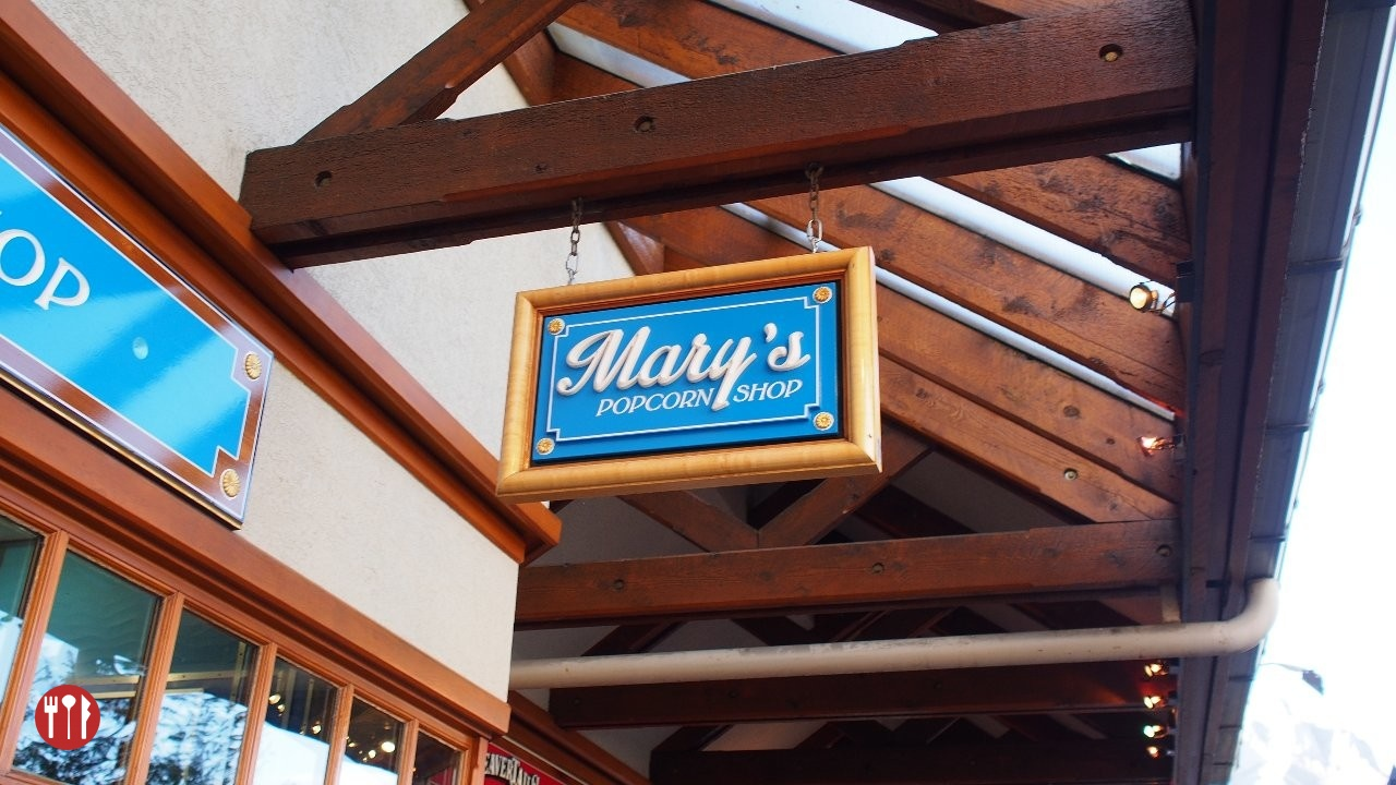 Mary's Popcorn Shop in Banff