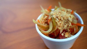 Delicious Thai - Green Papaya Salad at Taste of Calgary 2015