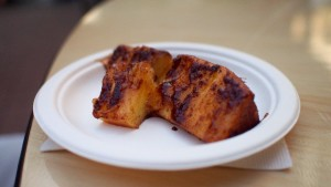 Pampa Brazilian Steakhouse - Caramelized BBQ Pineapple, at Taste of Calgary 2015
