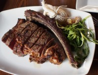 36oz Tomahawk Rib Eye at Modern Steak