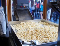 Popcorn at Mary's Popcorn Shop
