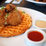 Chicken & Waffles at The Bro'kin Yolk